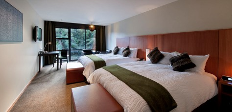 Luxury Hotel Lodge Te Waonui Forest Retreat New Zealand